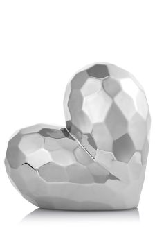 Large Faceted Heart