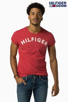 Hilfiger Denim Red Logo T-Shirt