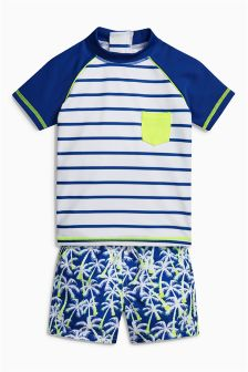 Woven Short Two Piece Set (3mths-6yrs)