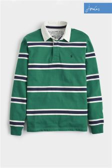 Joules Green Stripe Onside Rugby