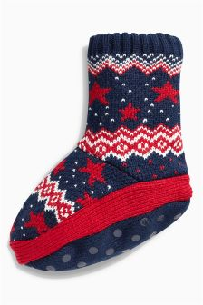 Star Boot Socks (Younger Boys)
