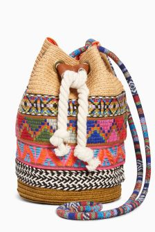 Multi Trim Bucket Bag