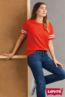Levi's® Flame Scarlet Athletic Tee