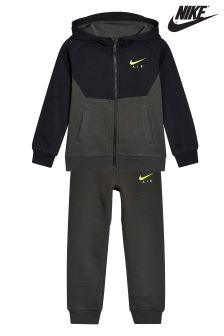 Nike Little Kids Black/Volt Air Tracksuit