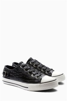 buy womens black pumps amp trainers from the next uk online
