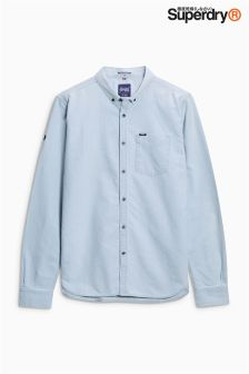 Superdry Blue Poplin Shirt