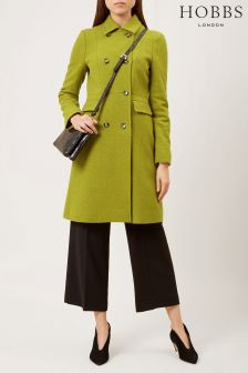 Hobbs Green Jasmin Coat