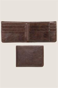 Leather Extra Capacity Wallet