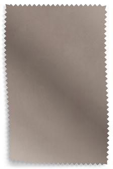 Novara French Grey Leather Upholstery Fabric Sample