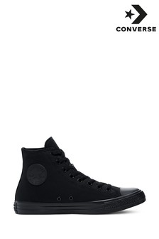 Converse Black/Black Chuck II Hi