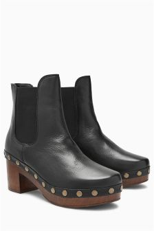 Clog Style Boots