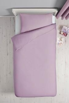 Kids Easy Care Plain Dye Bed Set