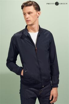 Pretty Green Navy Harrington Jacket