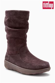 FitFlop™ Brown Loaff™ Slouchy Boot
