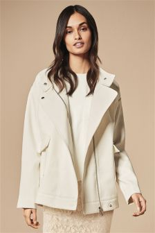 Oversized Bonded Jacket