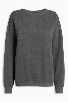 Crew Neck Sweat Top