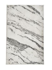 Tufted Marble Effect Bath Mat