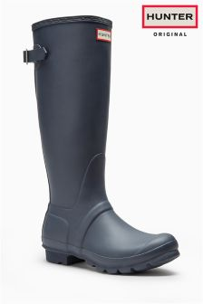 Hunter Original Back Adjustable Welly