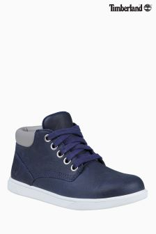Timberland® Navy Groveton Leather Chukka Boot