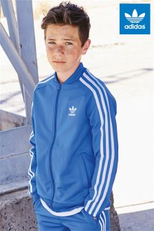 adidas Originals Blue Superstar Track Jacket