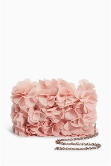 Frilly Clutch Bag