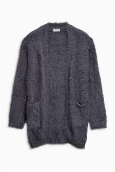 Fluffy Texture Cardigan (3-16yrs)