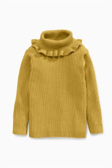 Frill Edge Roll Neck (3mths-6yrs)