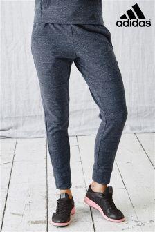 adidas Navy Marl Tapered Pant
