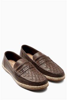 Weave Jute Loafer