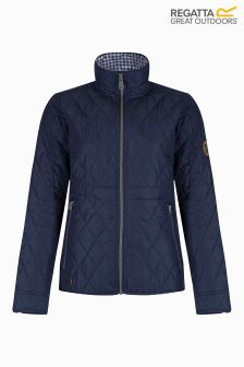 Regatta Navy Quilted Jacket