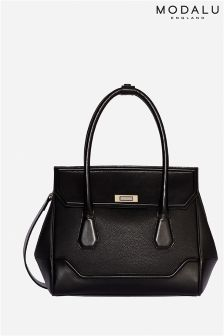 Modalu Hemingway Black Medium Tote Bag