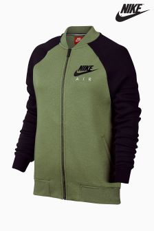 Nike Green/Black Zip Jacket