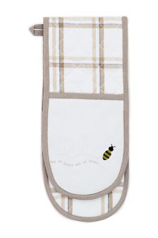 Bee Double Oven Glove