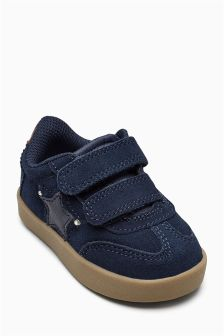 Star Strap Trainers (Younger Boys)
