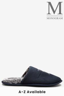 Monogram Slipper