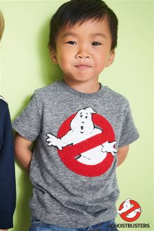 Short Sleeve Bouclé Ghostbusters T-Shirt (3mths-6yrs)