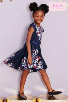 Ted Baker Printed Jewel Dress