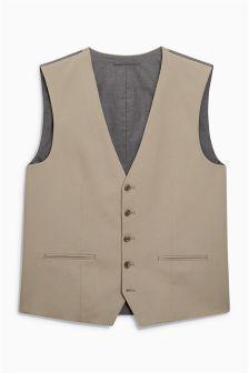 Cotton Suit: Waistcoat