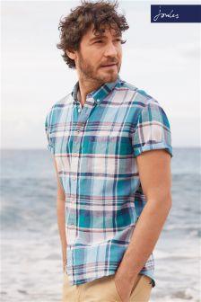 Joules Wilson Linen Blend Classic Fit Shirt