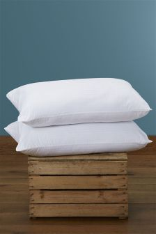 Set Of Two Anti-Allergy Pillows