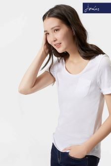 Joules White Daily T-Shirt