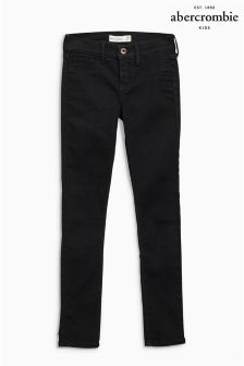 Abercrombie & Fitch Super Skinny Black Jean