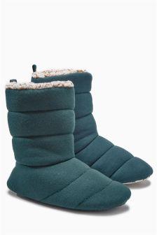 Jersey Duvet Boots
