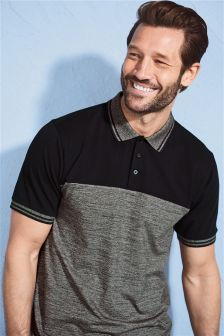 Tipped Colourblock Polo
