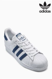 adidas Originals White/Blue Superstar