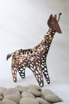 Solar Metal Giraffe