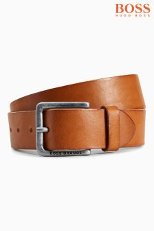Boss Orange Leather Jeek Belt