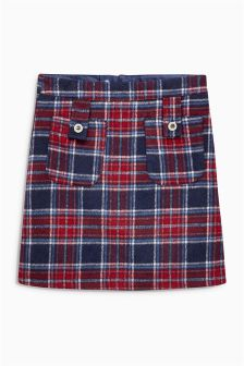 Check A-Line Skirt (3-16yrs)