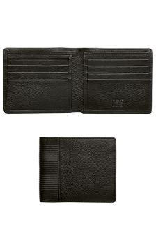 Leather Textured Two Fold Wallet