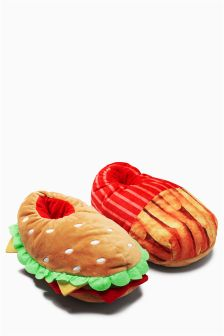 Fast Food 3D Slippers (Older Boys)